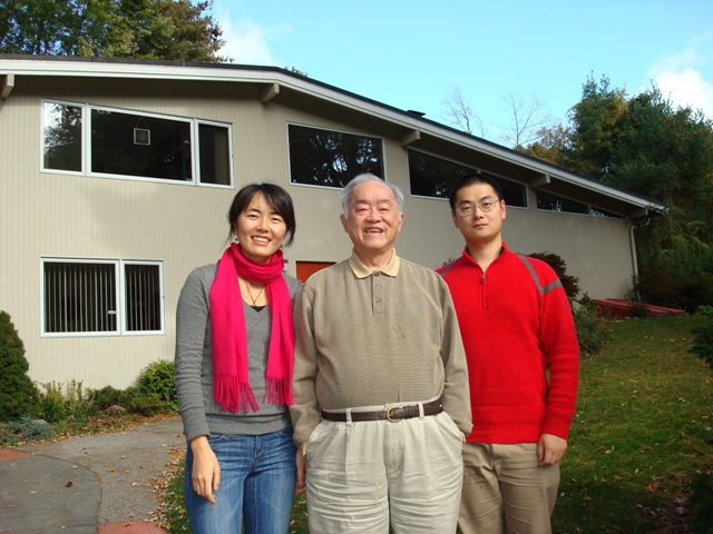 CFINS Phd Students visited Prof. Yu-Chi Ho