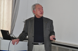 Prof. Yu-Chi Ho form Harvard University gave a talk