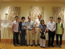 The professors and students of CFINS attending the CASE 2010