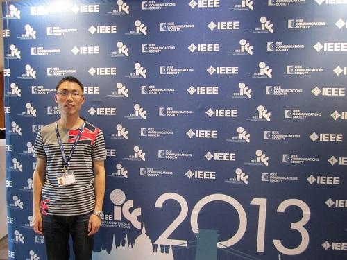 Qiang Li attended ICC2013