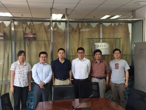 Dr. Dong Lin, Mr. Wang Zhenguo and Mr. Lei Jinsheng, specialists from ZPMC visited CFINS