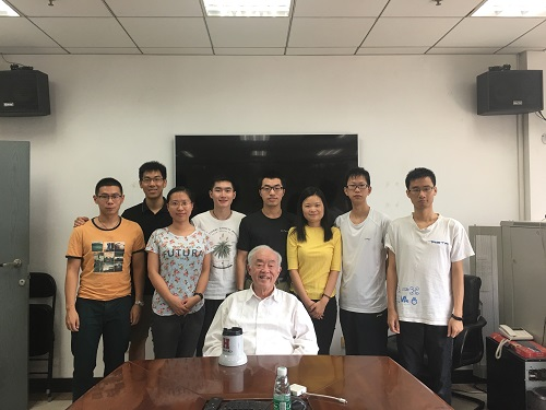 Prof.Ho and CFINS students